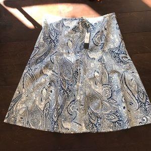 **BNWT** Talbots  swing skirt